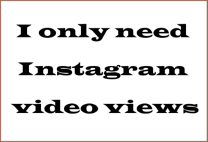 Instagram Video Views Info